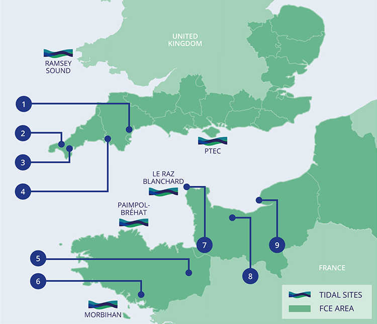 Partners within the French (Channel) England region
