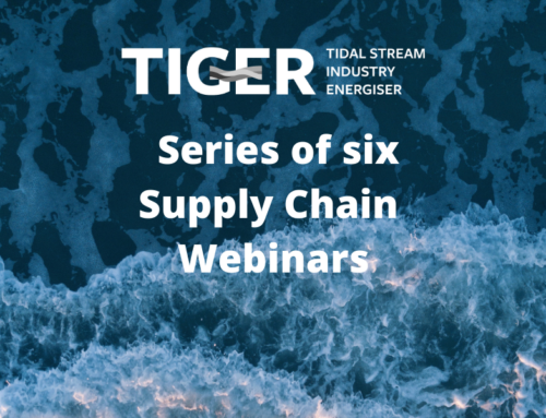 Series of tidal stream supply chain webinars