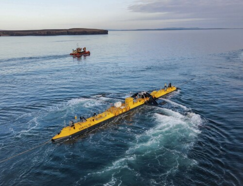 World's most powerful tidal turbine, the O2, arrives in Orkney waters