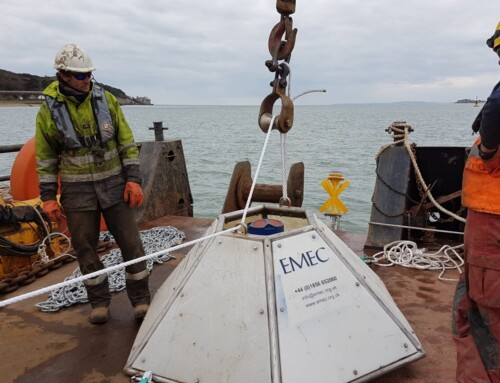 EMEC and QED Naval deploy flow measurement equipment at Yarmouth Harbour