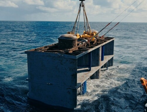 HydroQuest tidal turbine : End of tests on the EDF site in Paimpol Bréhat and new stages of development at the Raz Blanchard